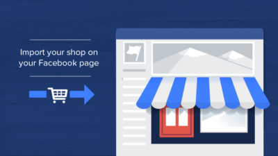 Facebook winkel plug-in