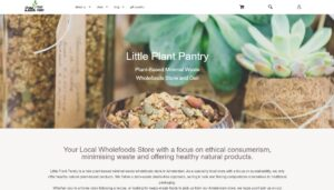 Referentie LittlePlantPantry: I was referred to onlinewebshop for a new webshop