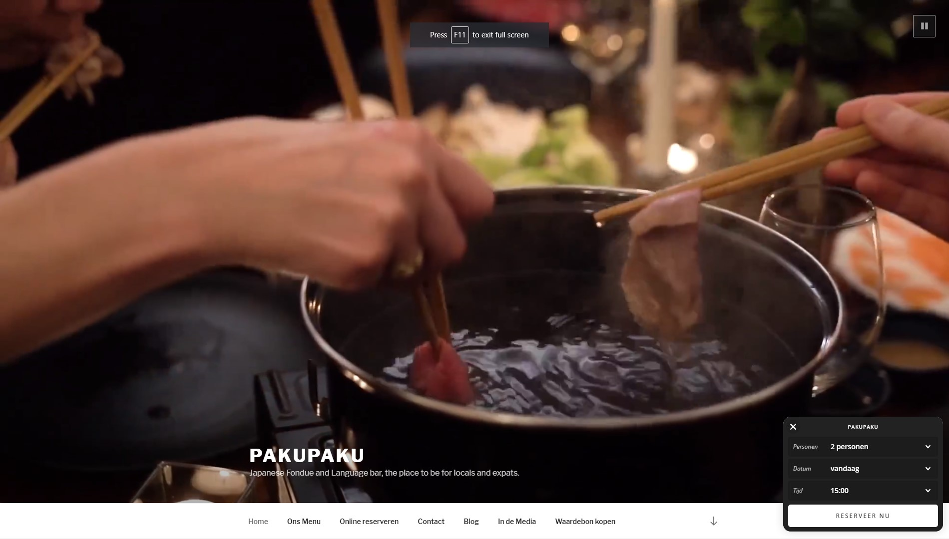 pakupaku Japans Fondue restaurant Referenties onlinewebshop.eu