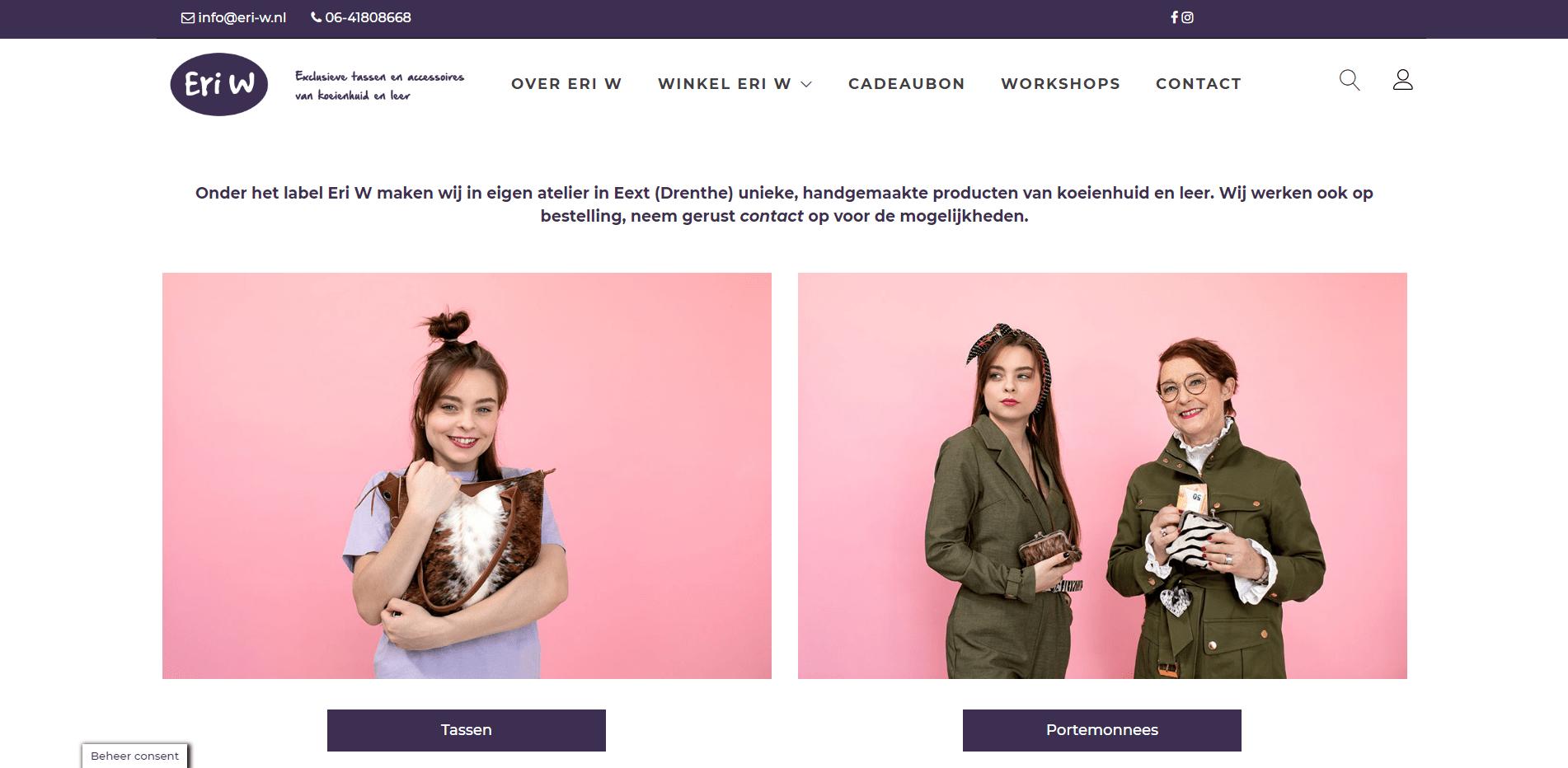 Eri-W.com Koeienhuid accessoires